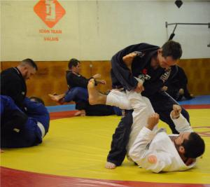 Picture taken during a BJJ class in our gym of Conthey